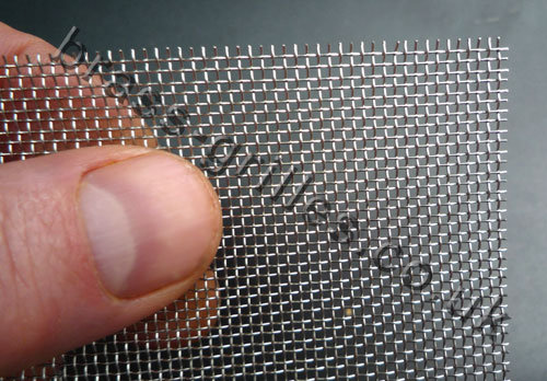 Stainless Steel Mesh Fine Woven Wire 1mm Holes 0 5mm