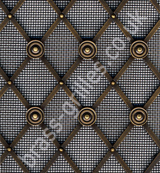 Regency Brass Diamond Decorative Grilles Made To Order In