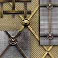 Regency, Georgian and Interwoven Made to Order Grilles