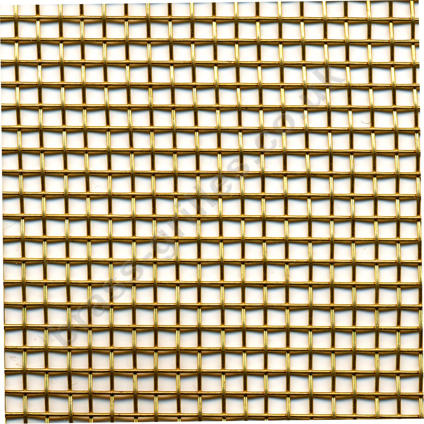 Flexible Large Woven Brass Wire Mesh