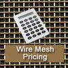 Cut Pricing for Brass and Stainless Steel Woven Wire Mesh