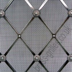 Regency Pewter Decorative Grille Example